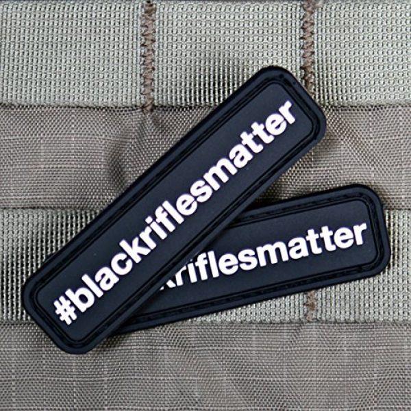 Violent Little Machine Shop Airsoft Morale Patch 3 Black Rifles Matter PVC Morale Patch - Violent Little Machine - 2nd Id Tactical (Color)