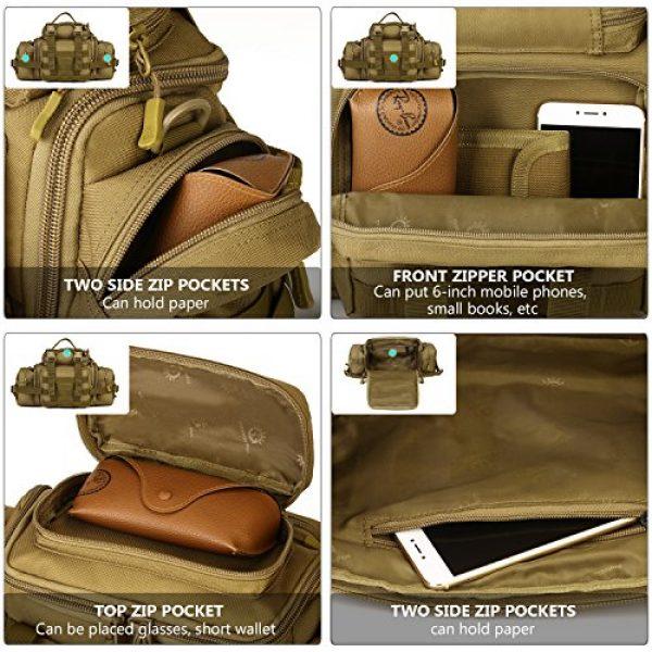 ArcEnCiel Tactical Pouch 4 ArcEnCiel Tactical Duffle Bag Fishing Fanny Pack Range Bags Men Gym Military Molle Shoulder Bags Waist Camera Sports Handbag
