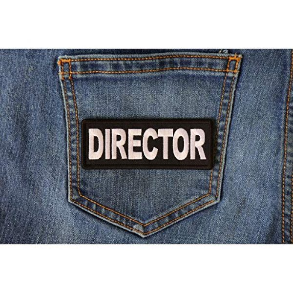 Ivamis Trading Airsoft Morale Patch 3 Director Patch - 4x1.5 inch - Embroidered Iron on Patch