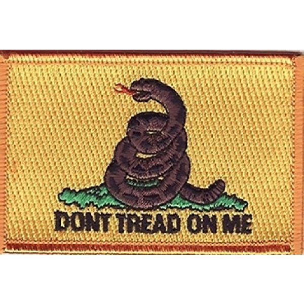 Innovative Ideas Airsoft Morale Patch 2 Gadsen Iron-on Embroidered Patch