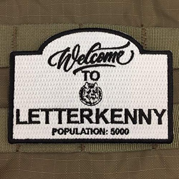 Violent Little Machine Shop Airsoft Morale Patch 2 Violent Little Machine Shop 'Welcome To Letterkenny' Embroidered Morale Patch