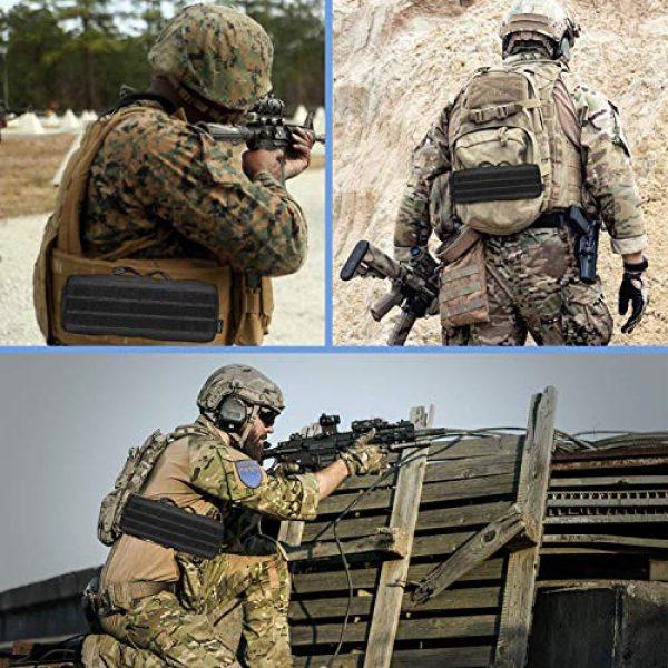 ProCase Tactical Pouch 5 ProCase Tactical Admin Pouch (Longer Size) Bundle with Tactical MOLLE Pouch (Higher Size)