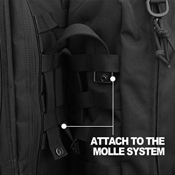 AMYIPO Tactical Pouch 5 AMYIPO Tactical Pouch Multi-Purpose Large Capacity Increment Pouch Short Trips Bag