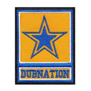 Tactical Patch Works Airsoft Morale Patch 1 Warriors Dubnation Inspired Art Golden State Army Parody Patch