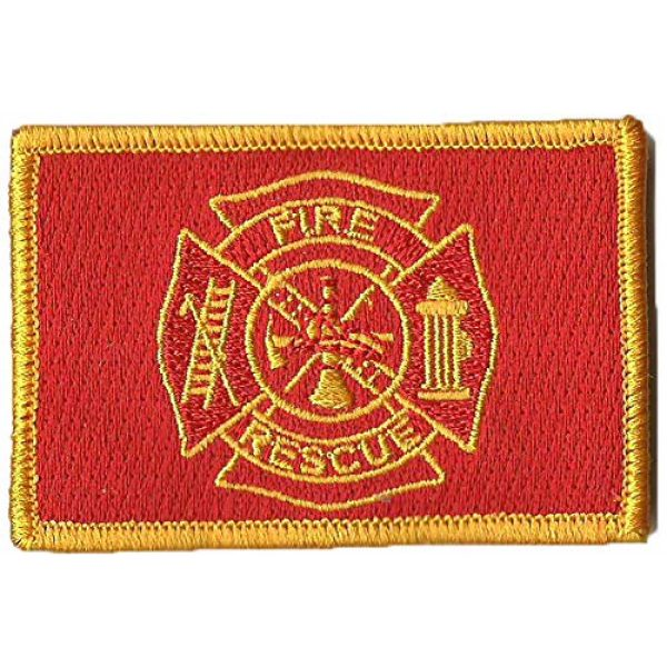 Gadsden and Culpeper Airsoft Morale Patch 1 Fire Rescue Tactical Patches