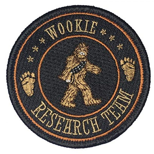F-Bomb Morale Gear Airsoft Morale Patch 1 Wookie Research Team - Embroidered Morale Patch
