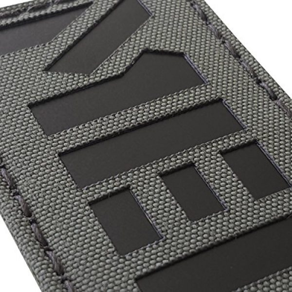 Tactical Freaky Airsoft Morale Patch 3 Ranger Green Infrared MED Medical IR EMS 3.5x2 Tactical Morale Fastener Patch