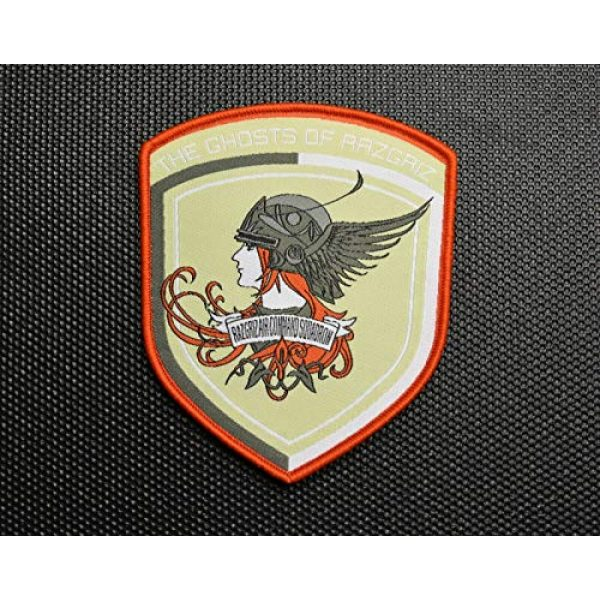 BritKitUSA Airsoft Morale Patch 1 BritKitUSA Ace Combat The Ghosts of Ragriz Morale Patch Velcro Brand Hook and Loop Backing