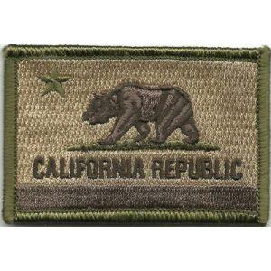 Gadsden and Culpeper Airsoft Morale Patch 1 California Tactical Patch - Multitan