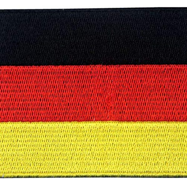 EmbTao Airsoft Morale Patch 2 EmbTao Germany Flag Embroidered Emblem German Applique Iron On/Sew On Patch