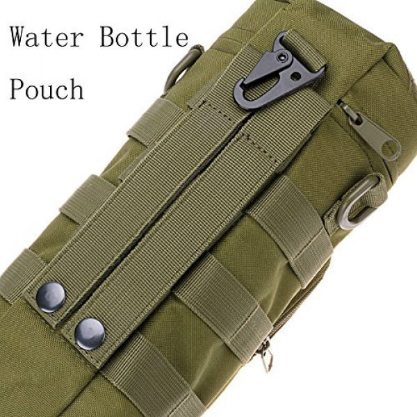 AOCK Tactical Pouch 5 AOCK Tactical Molle Water Bottle Pouch for Outdoor Travel Activities Military Camping Hiking Bag Outdoor Bag