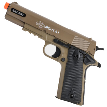 Colt M1911A1 Soft Air Best Spring Airsoft Pistol Under One Hundred Dollars