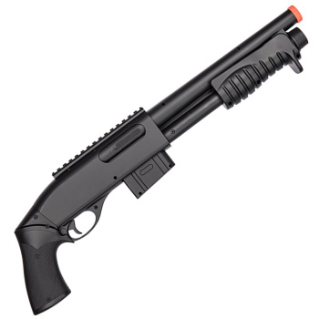 Double Eagle M401 Pump Action Best Spring Airsoft Shotgun Under One Hundred Dollars