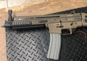 Echo 1 MK16 Scar Parted Out Airsoft Gun Needing Full Gun Restoration