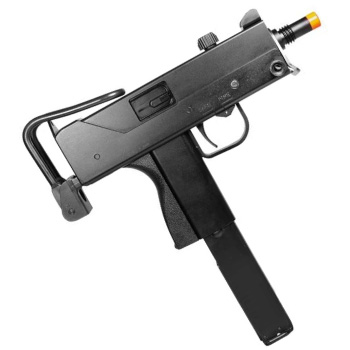 HFC M11 Green Gas Blowback Best SMG Airsoft Gun Under Two Hundred Dollars