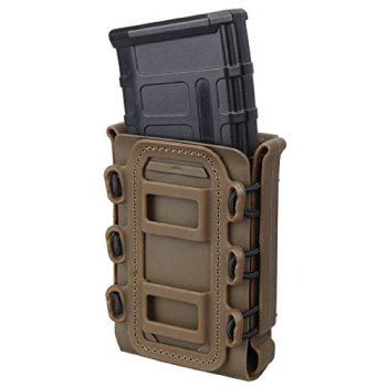 Open Top MOLLE Magazine Pouch with Retention