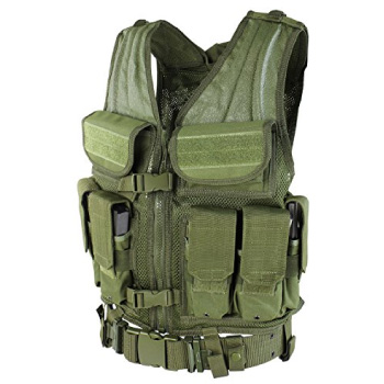 Pre-Made Tactical Airsoft Vest by Condor Elite