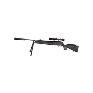 Hatsan Air Rifle 1 Hatsan 125 Sniper Vortex Gas Piston .177 Caliber Black Air Rifle w/3-9x32mm Scope 0.177