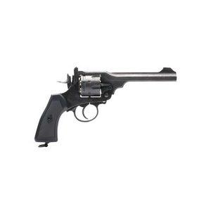 Webley & Scott Ltd. Air Pistol 1 Webley MKVI Pellet Revolver, Battlefield Finish 0.177