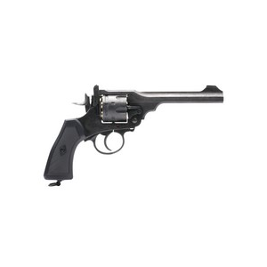 Webley & Scott Ltd. Air Pistol 1 Webley MKVI Pellet Revolver, Battlefield Finish 0.177
