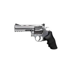 "Dan Wesson Air Pistol 1 Dan Wesson 715 4"" Pellet Revolver, Silver 0.177"