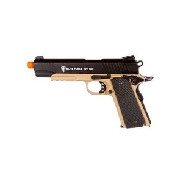 Elite Force Airsoft Pistol 1 Elite Force 1911 TAC Metal Airsoft Pistol 6mm