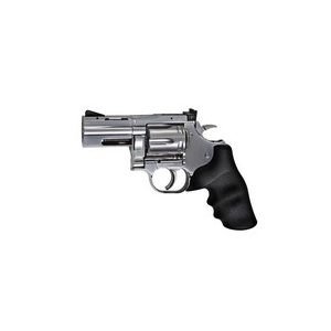 "Dan Wesson Air Pistol 1 Dan Wesson 715 2.5"" Pellet Revolver, Silver 0.177"
