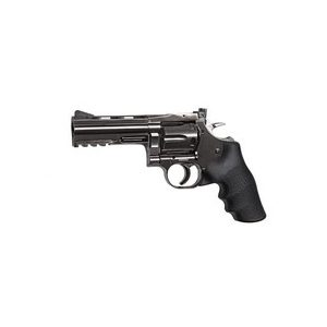 "Dan Wesson Air Pistol 1 Dan Wesson 715 4"" BB Revolver, Steel Grey 0.177"