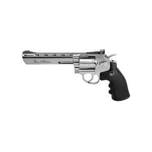 """Dan Wesson Air Pistol 1 Dan Wesson 6"""" BB Revolver, Silver 0.177"""