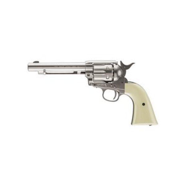 Colt Air Pistol 1 Colt Peacemaker SAA Revolver, Nickel 0.177