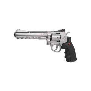 Crosman Air Pistol 1 Crosman SR357 BB Revolver, Nickel 0.177