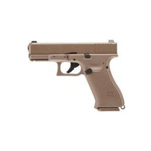 Glock Air Pistol 1 Glock 19X BB Pistol, Tan 0.177