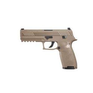 Sig Sauer Air Pistol 1 SIG Sauer P320 Pellet Pistol, Coyote Tan 0.177