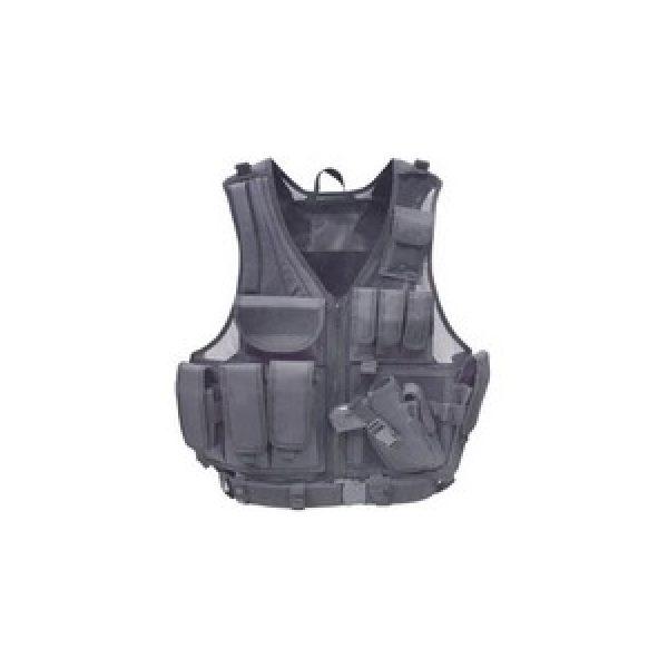 Utg Air Gun Accessory 1 UTG Airsoft Deluxe Tactical Vest, Black