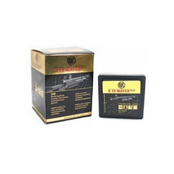 Rws Pellets and BBs 1 RWS R10 Match Plus .177 Cal, 8.2 gr - 500 ct 0.177