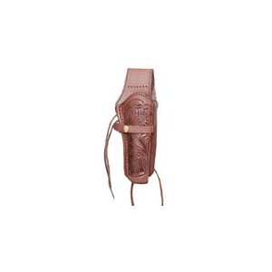 """Western Justice Air Gun Accessory 1 Western Justice 6"""" Leather Holster, Chocolate, Right Hand"""