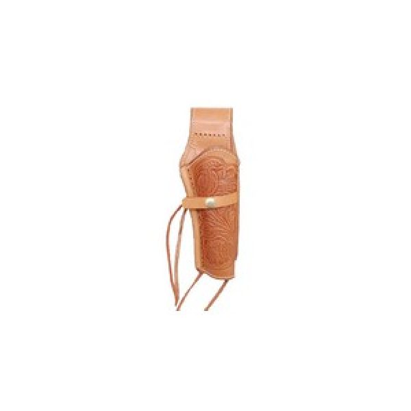 """Western Justice Air Gun Accessory 1 Western Justice 6"""" Leather Holster, Natural, Right Hand"""