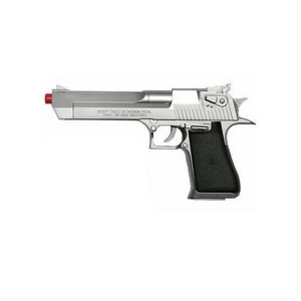 Magnum Research Airsoft Pistol 1 Desert Eagle .44 Magnum Airsoft Pistol, Silver 6mm