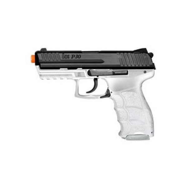 Heckler & Koch Airsoft Pistol 1 H&K P30 Electric Airsoft Pistol, Clear 6mm