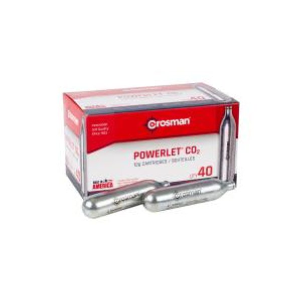 Crosman Air Gun Accessory 1 Crosman 12 gram CO2, 40 Pack