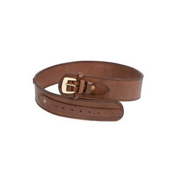 "Western Justice Air Gun Accessory 1 Western Justice Leather Gun Belt, 36-40"" Waist, Chocolate"