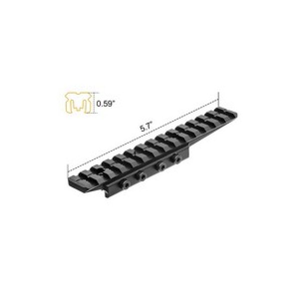 Utg Air Gun Accessory 1 UTG Universal Dovetail To  Picatinny/Weaver Adapter