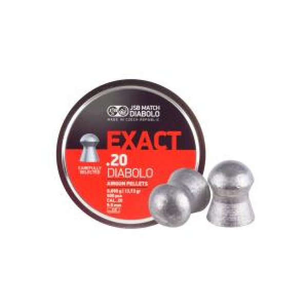 Jsb Pellets and BBs 1 JSB Diabolo Exact .20 Cal, 13.73 gr - 500 ct 0.20