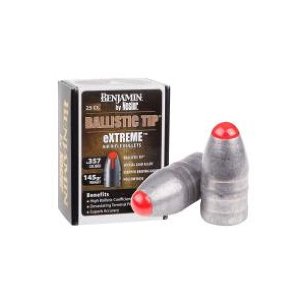 Benjamin Pellets and BBs 1 Benjamin eXTREME by Nosler .357 Cal, 145 gr - 25 ct 0.357