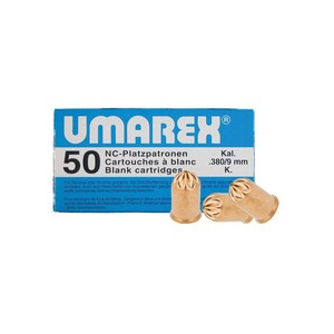 Umarex Pellets and BBs 1 9mm R.K. Revolver Blank Rounds - 50 ct 0.357