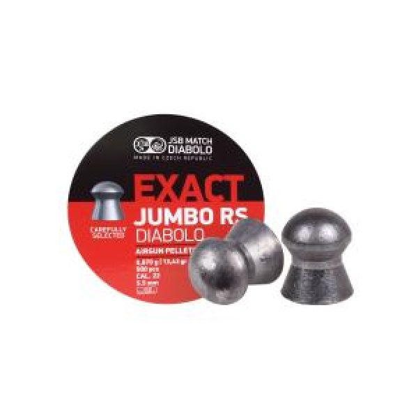Jsb Pellets and BBs 1 JSB Diabolo Exact Jumbo RS .22 Cal, 13.43 gr - 500 ct 0.22