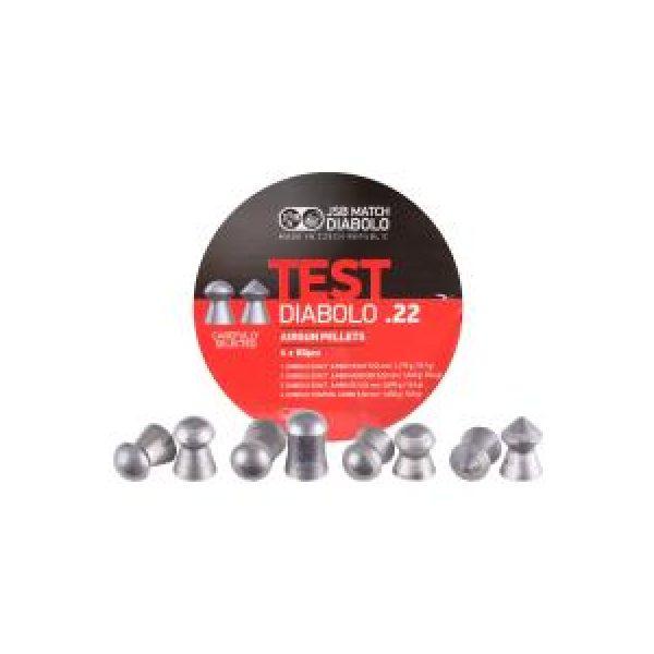 Jsb Pellets and BBs 1 JSB Diabolo Exact Sampler Testing Set .22 Cal - 240 ct 0.22