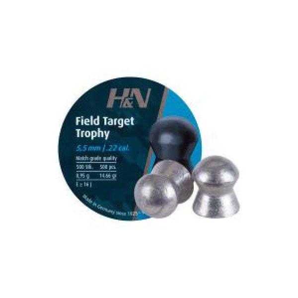 Haendler & Natermann Pellets and BBs 1 H&N Field Target Trophy (5.54mm) .22 Cal, 14.66 gr - 500 ct 0.22