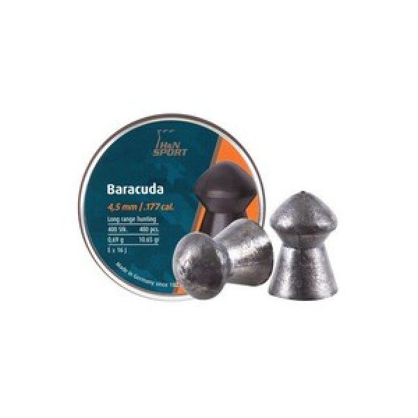 Haendler & Natermann Pellets and BBs 1 H&N Baracuda .177 Cal, 10.65 gr - 400 ct 0.177