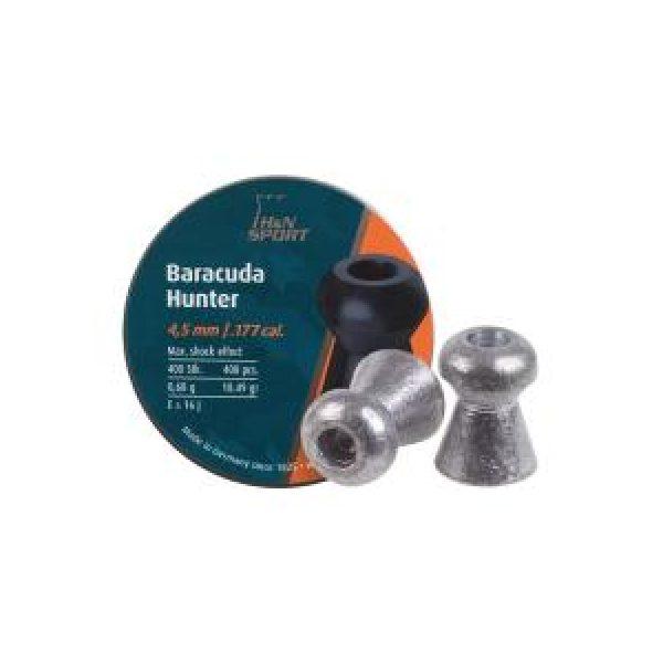 Haendler & Natermann Pellets and BBs 1 H&N Baracuda Hunter .177 Cal, 10.34 gr - 400 ct 0.177